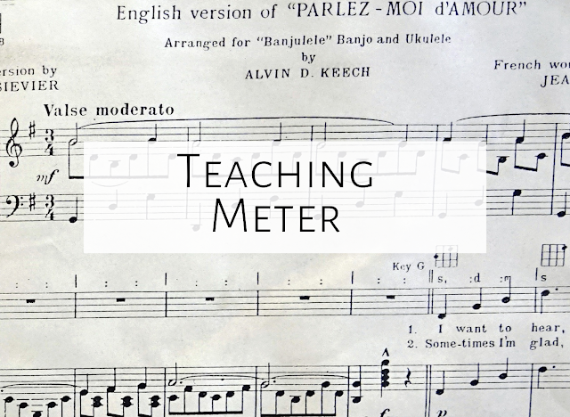 Teaching meter/ time signature