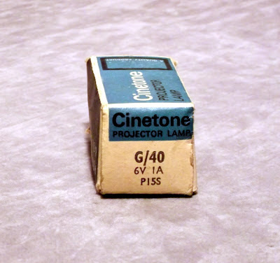 Cinetone G/40 6 Volt 1 Amp P15S Film projector exciter lamp