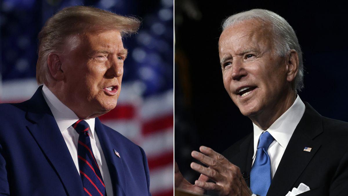 debate de Trump y Biden