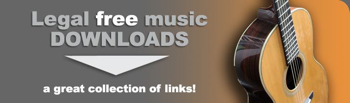 Legal Free Music Downloads