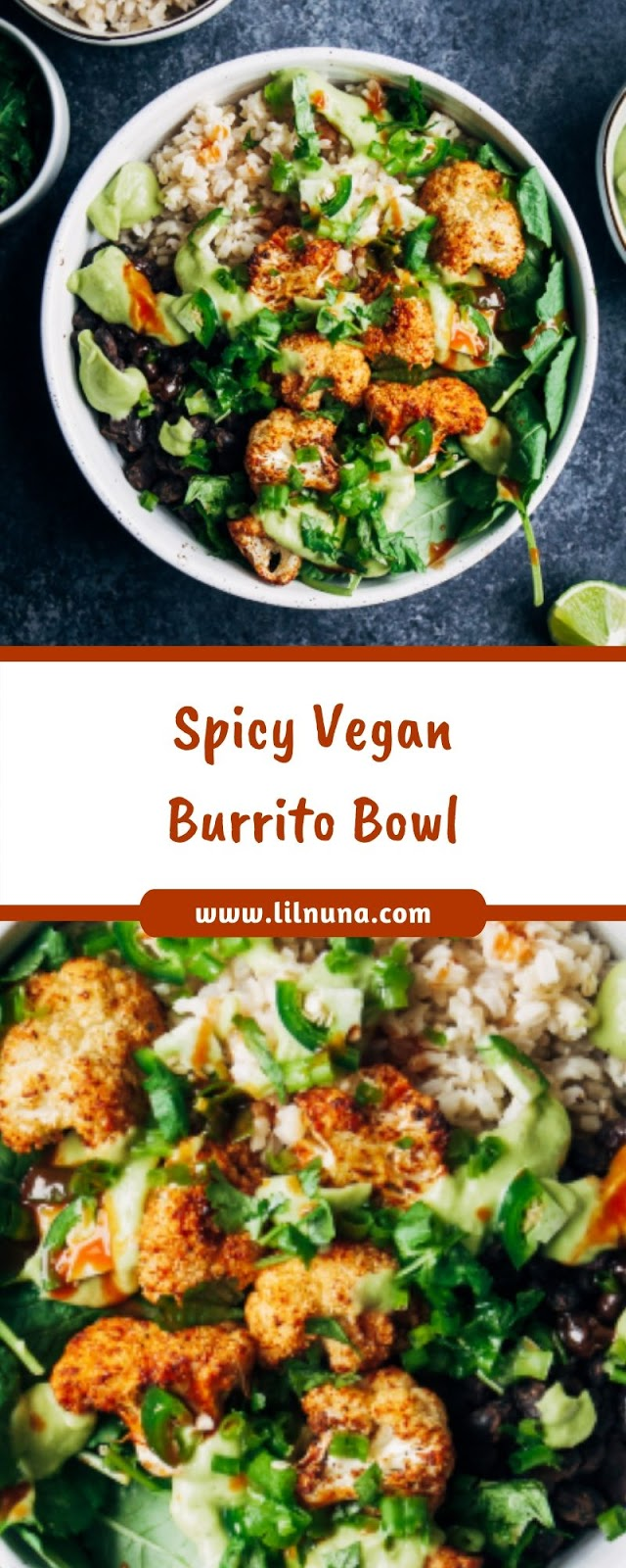 Spicy Vegan Burrito Bowl