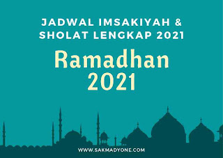 jadwal sholat dan imsak 2021