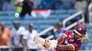 Evin Lewis 125* - West Indies vs India Only T20I 2017 Highlights