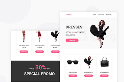 Free Wordpress and Shopify themes