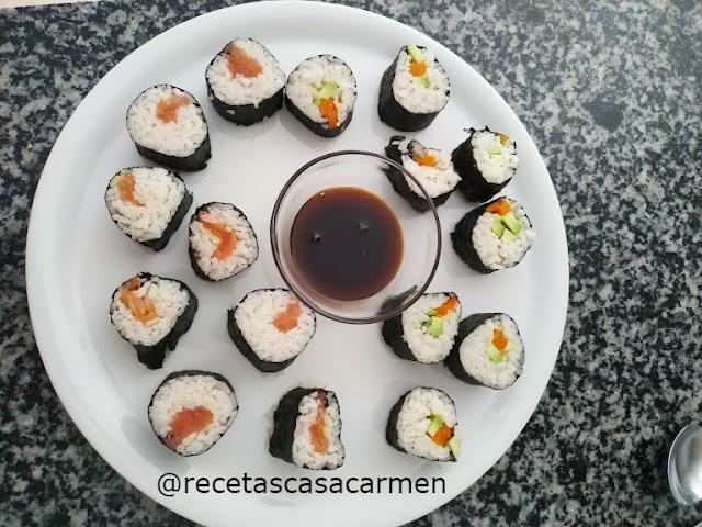 Intentándolo con el Sushi