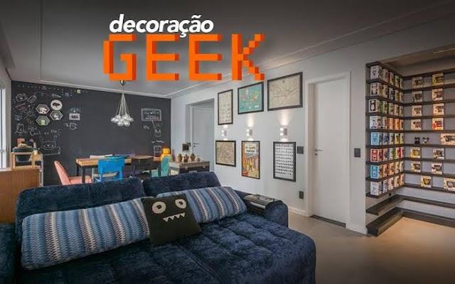 Temática Geek para sua casa