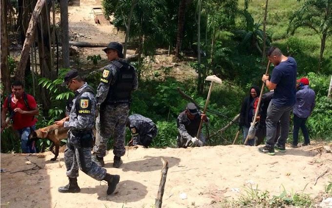 Polícia faz buscas por PM desaparecido em invasão na zona norte