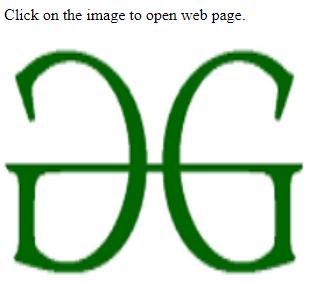 penggunaan gambar sebagai pintasan pada alamat web dengan menggunakan html 5