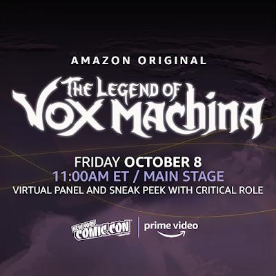 NYCC 2021 Amazon Prime The Legend of Vox Machina Panel