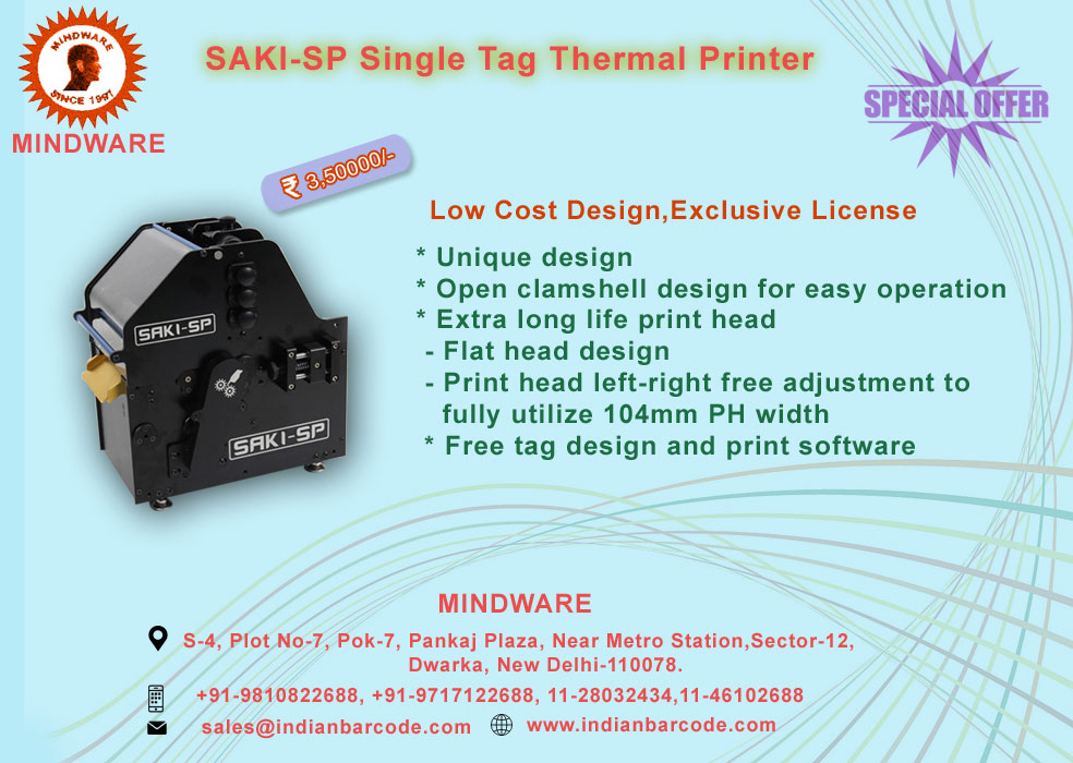 Industrial Printers Solutions By indian barcode corporation