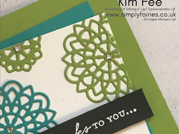 Casing the Stampin Up! Catalogue with Dear Doily