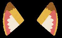 獣耳のイラスト(キツネ2)