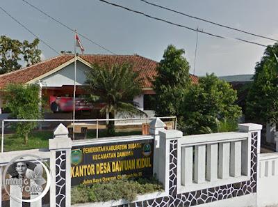 Kantor Desa Dawuan Kidul, Kecamatan Dawuan