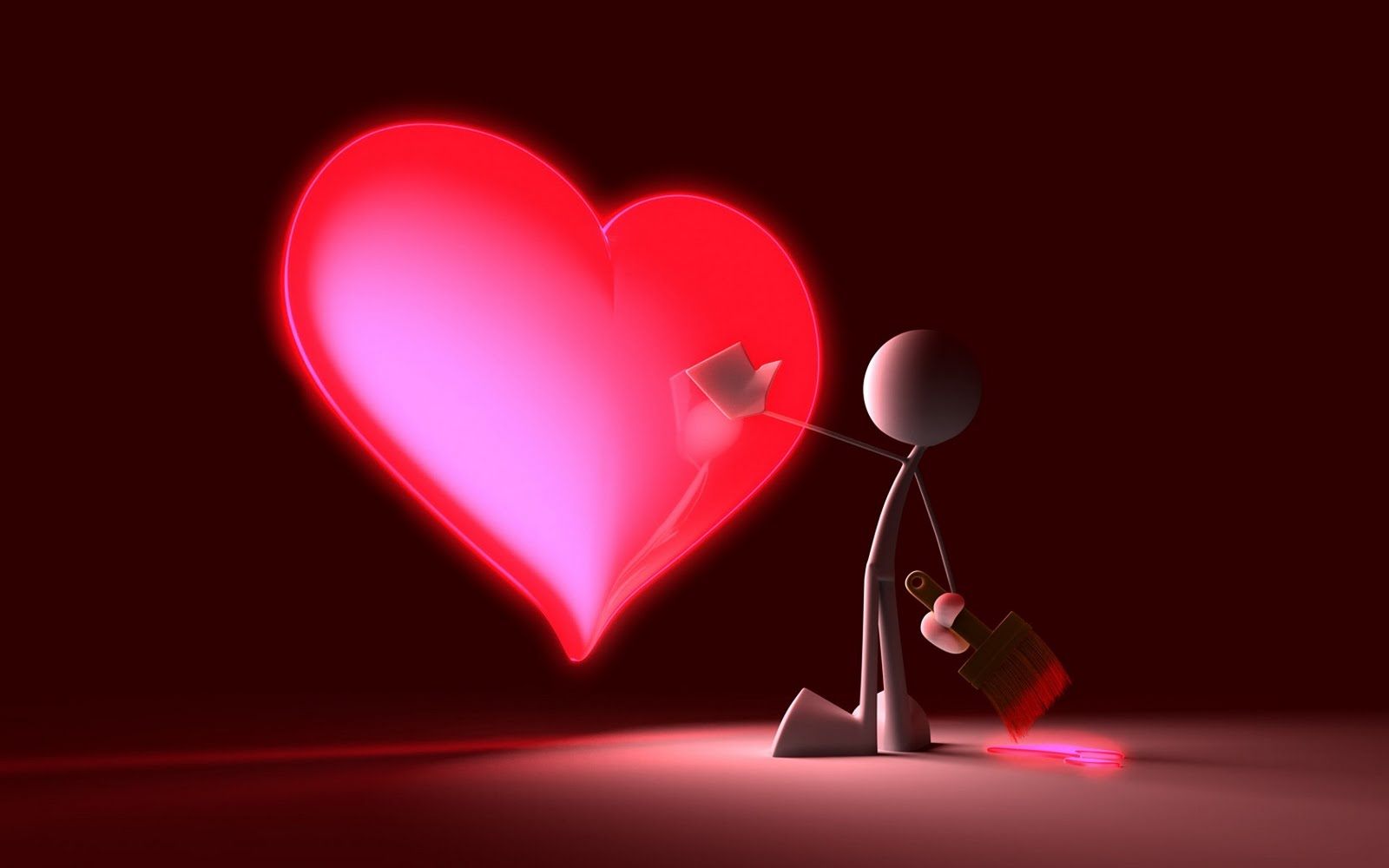 3d Heart Love Wallpapers 4852 Wallpaper: TOP WORLD PIC: Love & Heart 3D Wallpapers