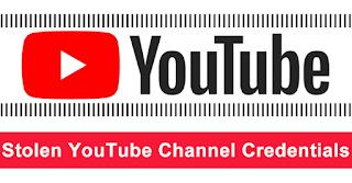 Stolen YouTube Channel Credentials is highly demanded in Dark Web Forum