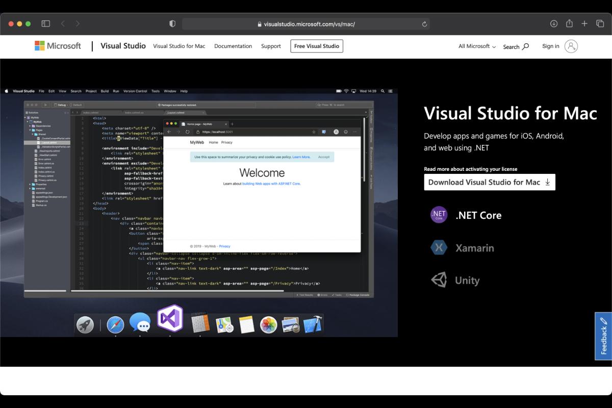 Come installare Visual Studio su Mac