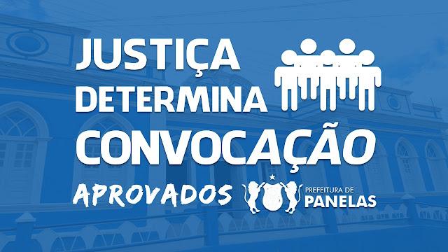 JUSTIÇA  DETERMINA CONVOCAÇÃO APROVADOS FORA DO NÚMERO DE VAGAS