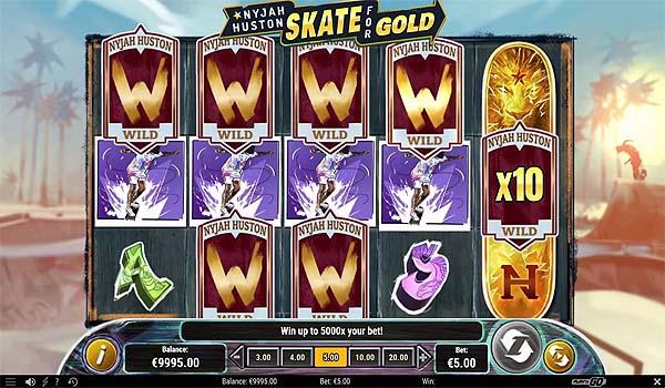 Main Slot Indonesia - Nyjah Huston: Skate For Gold (Play N Go)