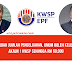 Pengeluaran Akaun 1 KWSP Sehingga RM 60,000 Mengikut Jumlah Simpanan