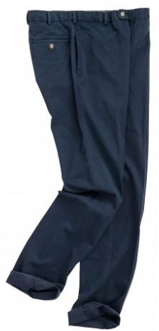 Raleigh Washed Twill Flat Front Pant