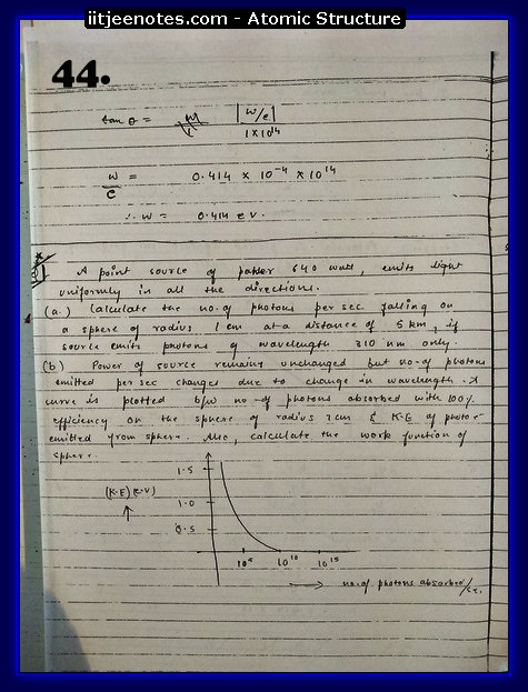 Atomic Structure Notes cbse1