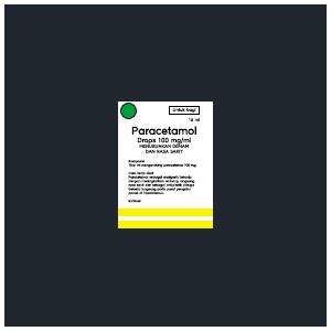 Paracetamol Drops 100 mg/ml, Menurunkan Demam dan Rasa Sakit (Untuk Bayi)