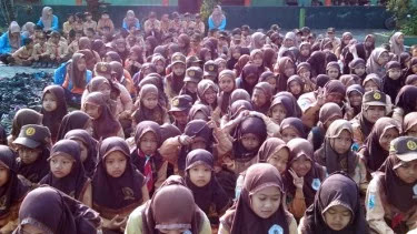 Peringati  Harlah NU, Ribuan Siswa di Kabupaten Malang Serentak Istigatsah dan Baca Sahalawat Asyghil