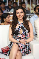 Kyra Dutta in a Deep neck Small Dress at Shamanthakamani pre release function ~  Exclusive 007.JPG