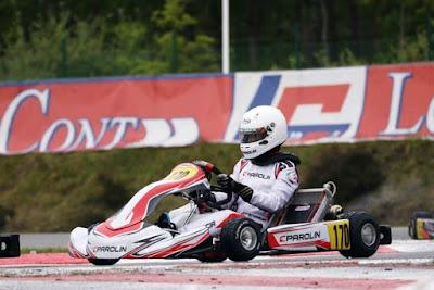 Ricardo Gracia estreia no Mundial de Kart