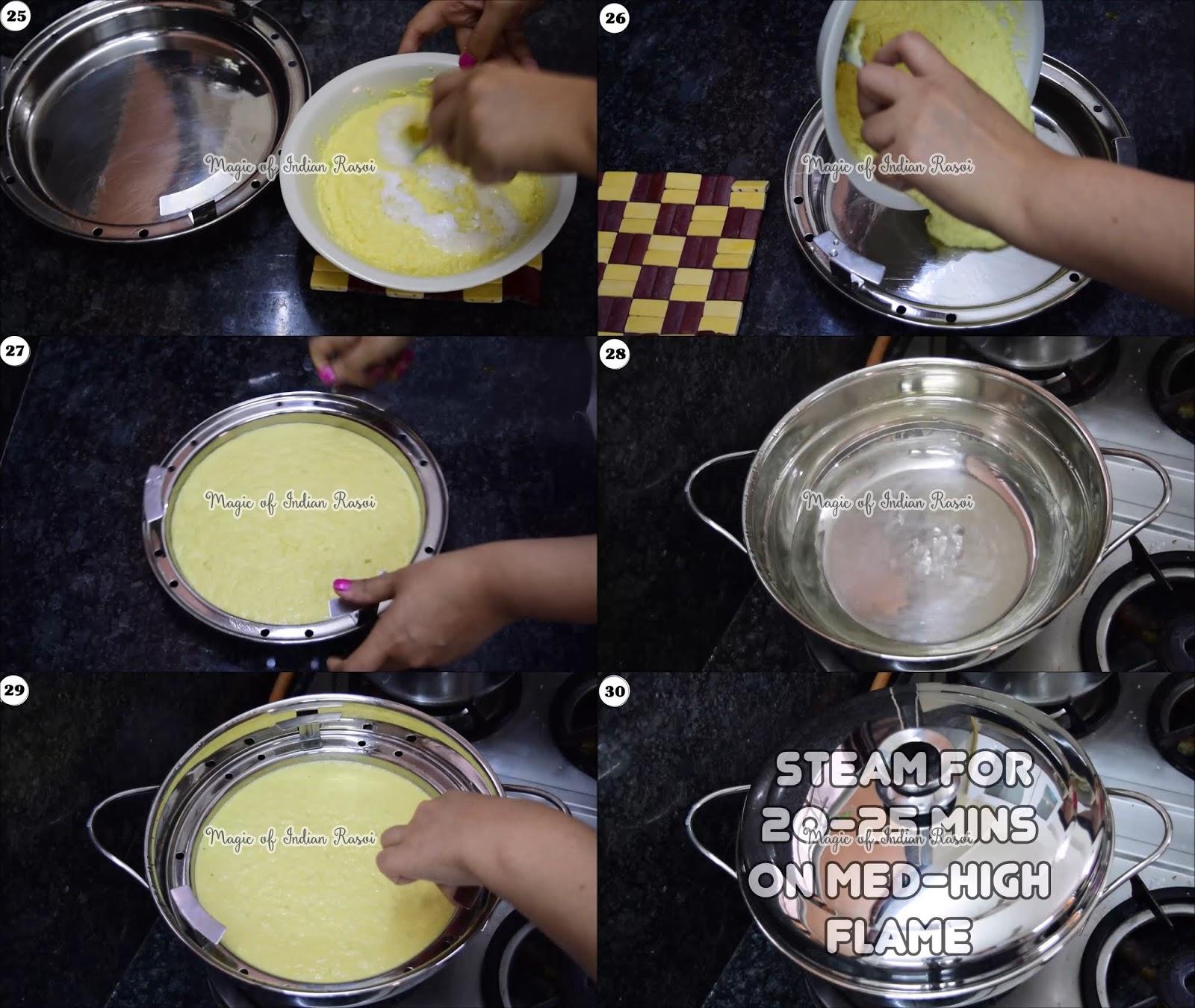 Tam Tam Khaman Dhokla Recipe - 6