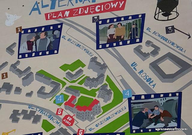 Warszawa Warsaw streetart muralart Ursynów warszawskie murale ursynowskie blok bloki Alternatywy 4 Balcerek Anioł