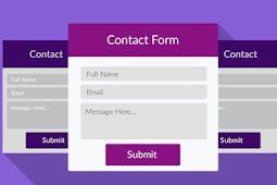 Cara Membuat Halaman Kontak ( Contact Form ) di Blog Yang Benar