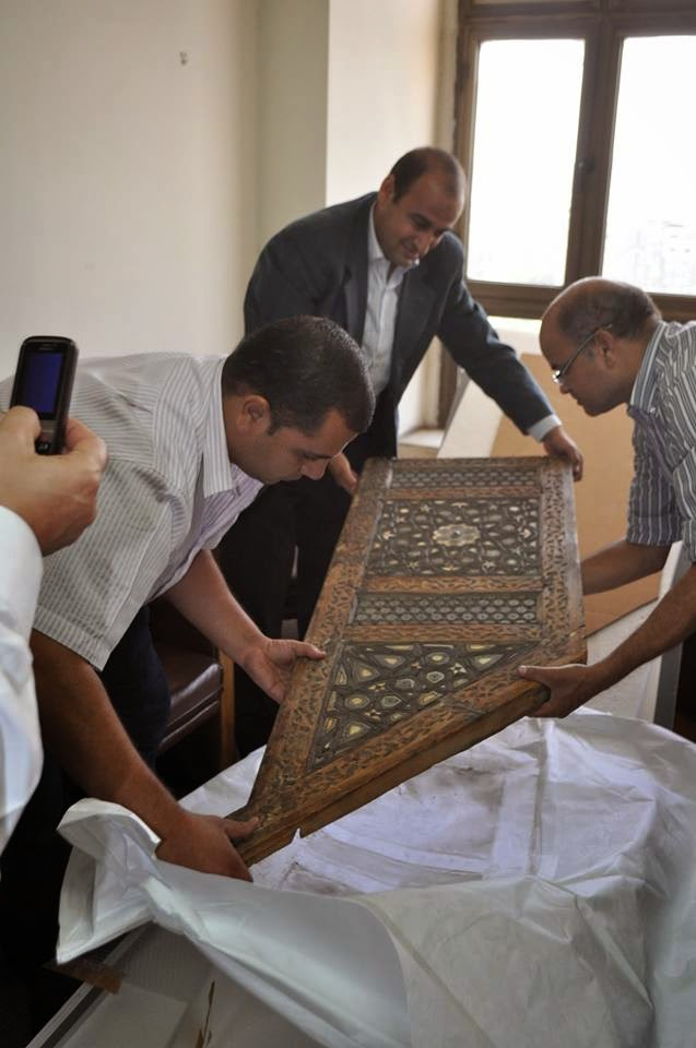 Islamic, pharaonic items returned to Egypt