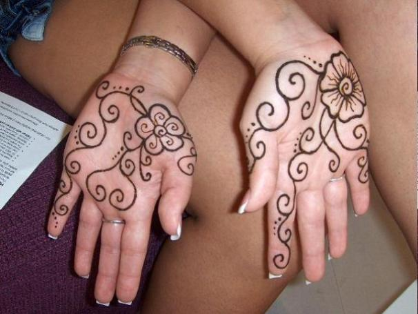 Easy Henna Designs For Kids: Simple Mehndi Designs For Kids