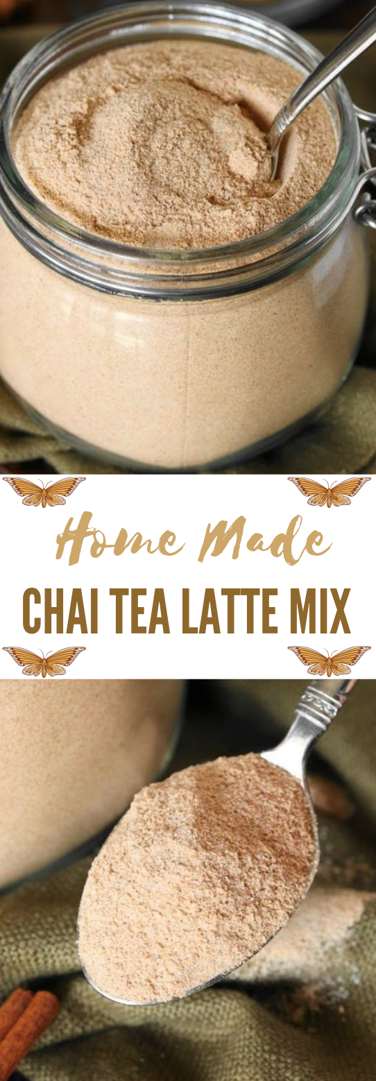 CHAI TEA LATTE MIX #tea #drink #healthy #latte #cocktail