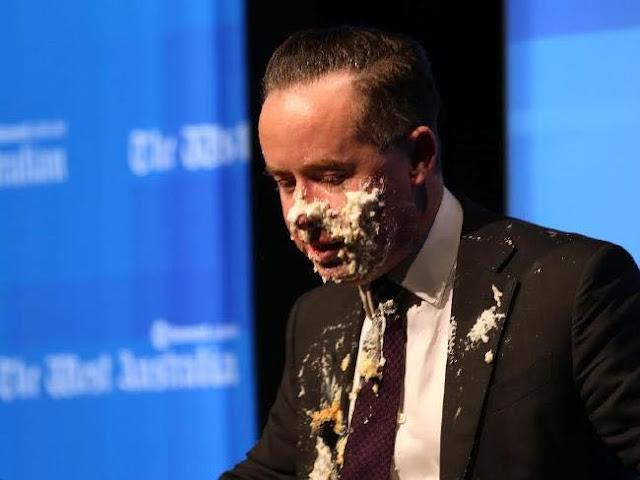 到彼岸推介 - 澳航CEO演講被砸蛋糕 高EQ應對獲贊