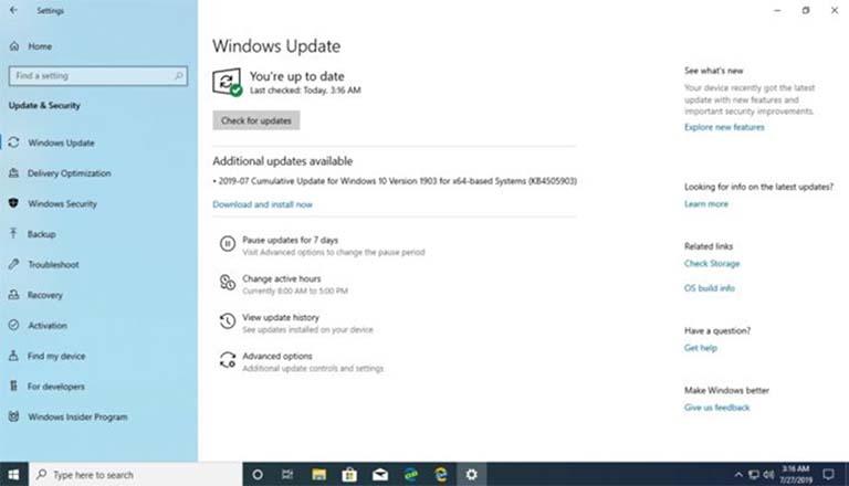 Windows 10 October 2019 Update Dapat Pembaruan Menjadi Build 18362.267
