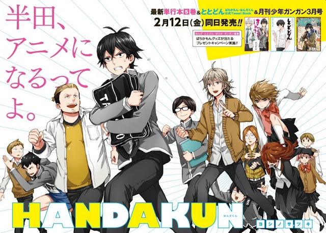 [Review Anime] Handa-kun