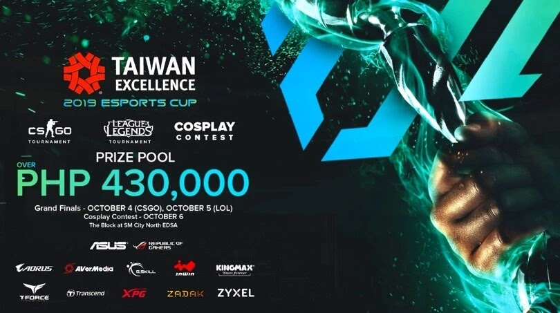 Taiwan Excellence eSports Cup Finals Happening this October