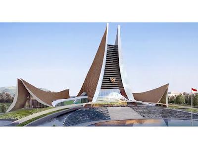 Mengintip Hasil Sayembara Desain Istana Presiden di Ibu Kota Baru dari