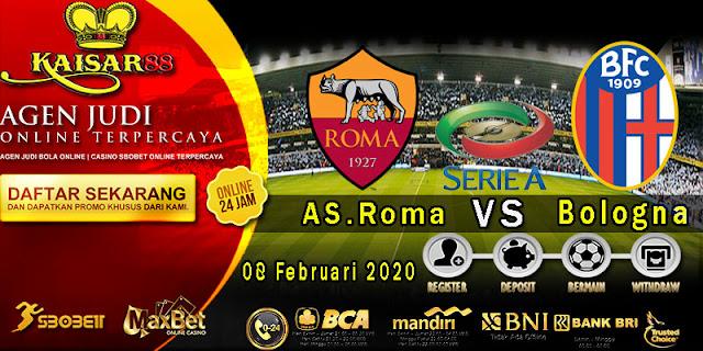 Prediksi Bola Terpercaya Liga Italia AS Roma Vs Bologna 8 Februari 2020