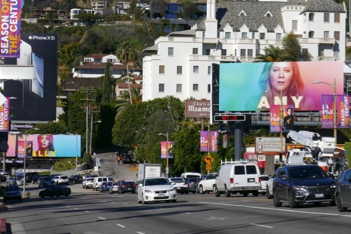 A Star Is Born Ally Amy Netflix billboards Sunset Strip