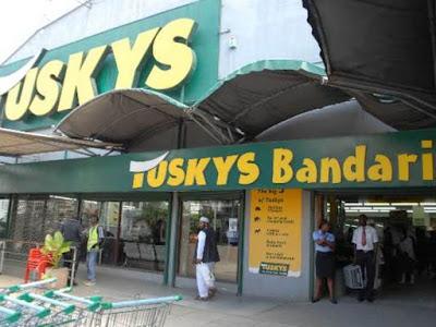 Tuskys bandari branch in Mombasa. PHOTO | BMS