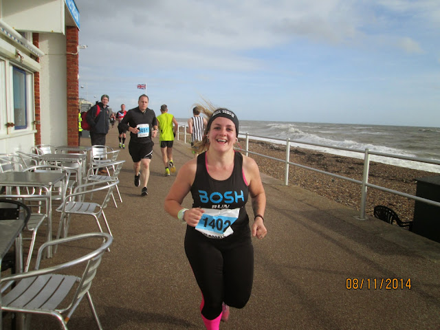 Poppy Half 2014 - Bexhill seafront