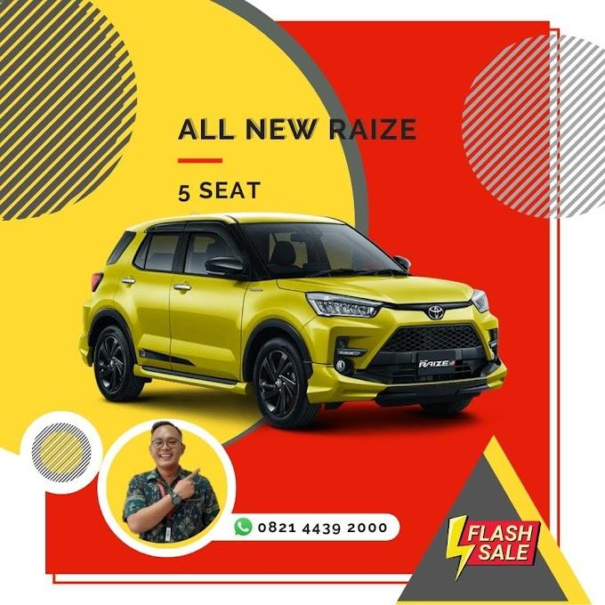 Harga & Promo Raize GR Bali