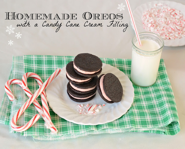 Homemade oreos with a mint filling, mint oreos homemade, dark chocolate cookies