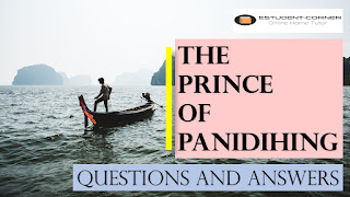 The Prince of Panidihing | All Questions Answers | Class 8 | Lesson 1 | A Story about Khagen