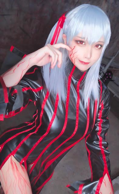 Matsuna cosplayer cantik sakura fate