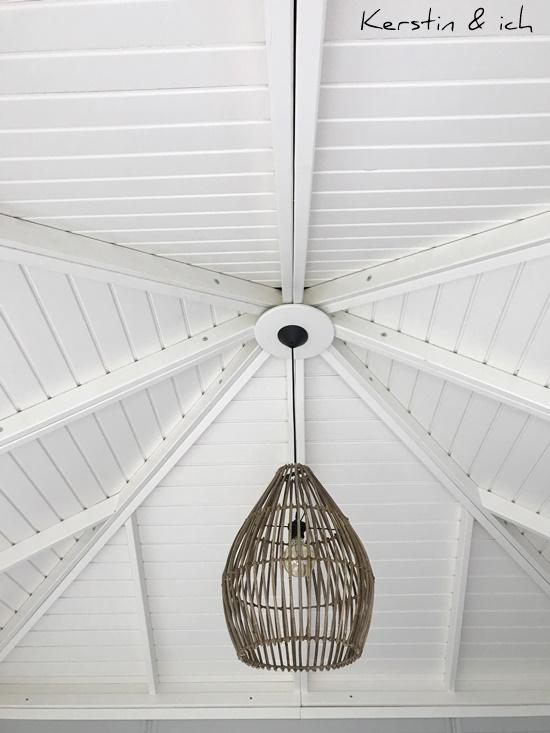 Gartenhaus Wohntrend Deko Inneneinrichtung Decke