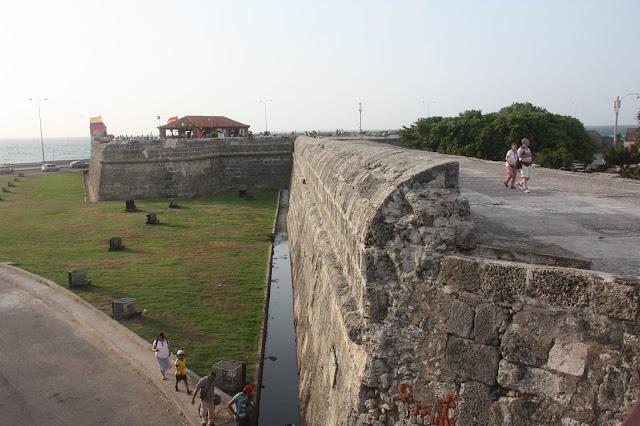 A Ciudad Amurallada é o Centro histórico de Cartagena das índias.